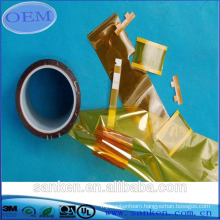 Die cutting polyimide adhesive tape