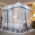 New Indoor 1,5 Bett 1,8 Bett Palace Princess Windband Zelt Square Moskitonetz