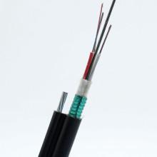 Fig. 8 Câble de fibre optique aérien