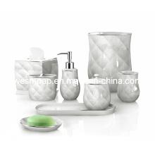 Set d'accessoires de bain en porcelaine (WBC0634B)