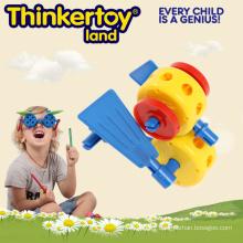 Lovely Animal Model DIY Toy Meilleur cadeau pour enfants Gear Blocks Toys