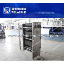 Intercambiador de calor automático de refrigeración de placas