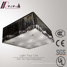 Lámpara de techo de cristal rectangular de la sala de estar del proveedor chino