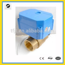 "CWX-60P DC5V Brass 3/4"" Full Port electric Ball valve with signal feedback for position state"