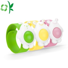 BPA Off Insect Repellent Gelang Band Nyamuk silikon