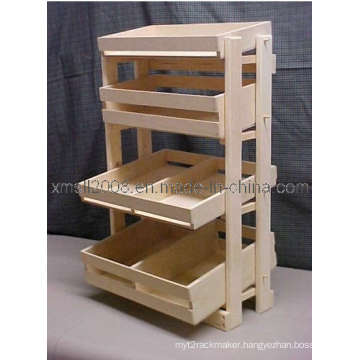 Wooden Display Stand (GDS-047)