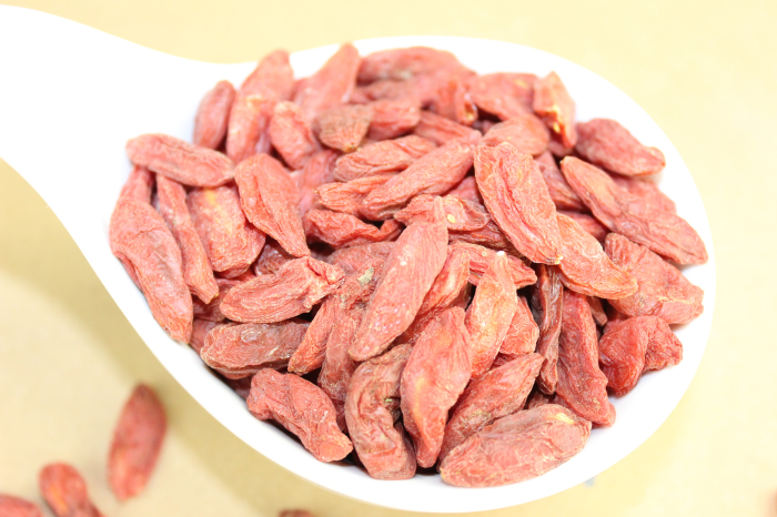 Low residues Goji berries