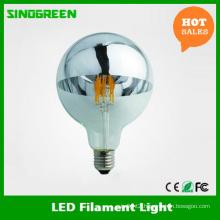 Germany Standard G125 Globe LED Mirror Head Bulb LED Filament Spiegelkopf