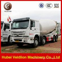 HOWO 12m3 12cbm 12 Cubic Meter Portable Concrete Mixer