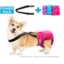 Washable Female Dog Diaper Suspenders