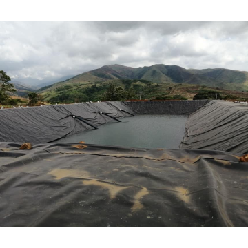 HDPE Geomembrane Blue Color لـ Pond Liner