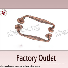 Factory Direct Sale Zinc Alloy Big Pull Archaize Handle (ZH-1308)