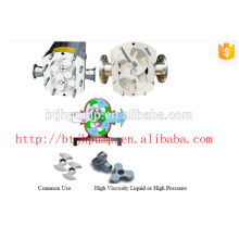 sanitary stainless steel Rotary Lobe Pump for honey and food