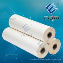 Película termal del rollo de 21mic ~ 35mic BOPP para la laminación caliente con el pegamento de EVA (FSEKO)
