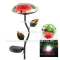 New Design Garden Light Mushroom Metal Stake Street Solar Light