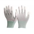ZM Antistatic ESD Carbon Fibre PU Top Fit Gloves