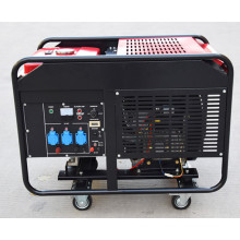 Factory-direct Three phase two-cylinder 10kw Portable silent Type gasoline engine generator