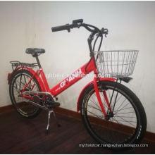 250W Hidden Battery Public Electric Bike