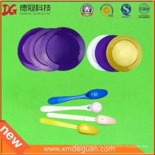 Alimentos de grado ronda cubierta de plástico para el tazón de fuente
