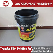 best selling heat transfer film for plastic buckets
