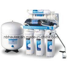 Sistema de filtragem de RO para uso doméstico