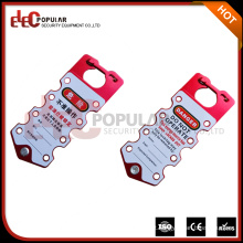 Elecpopular Últimos produtos no mercado OEM Aluminum Safety Lockout Hasp with Tag