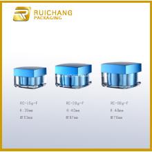 Square Shape Acrylic Cream Jar