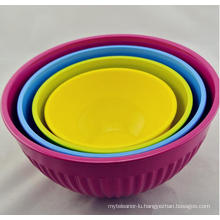 (BC-MB1008) High Quality Reusable Melamine Bowl Set