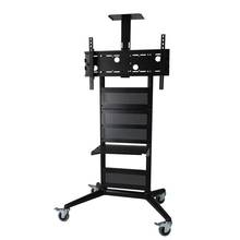 TV Trolley Cart for Display up to 32` ' -75` '