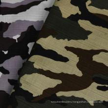 Cotton Woven Jacquard Printed Dress Shirt Fabric