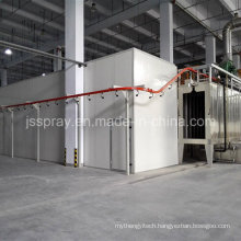 New Automatic Powder Coating Machine Line for Storage Rackings