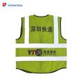 2018 Nuevo diseño de estilo caliente más de moda y popular en China chaleco de seguridad reflexivo al por mayor en Alibaba