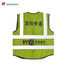 2018 Nouveau design chaud style plus mode et populaire en Chine réfléchissant gilet de sécurité en gros sur Alibaba