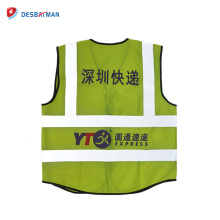2018 New design hot style most fashion and popular in China reflective safety vest wholesale on Alibaba