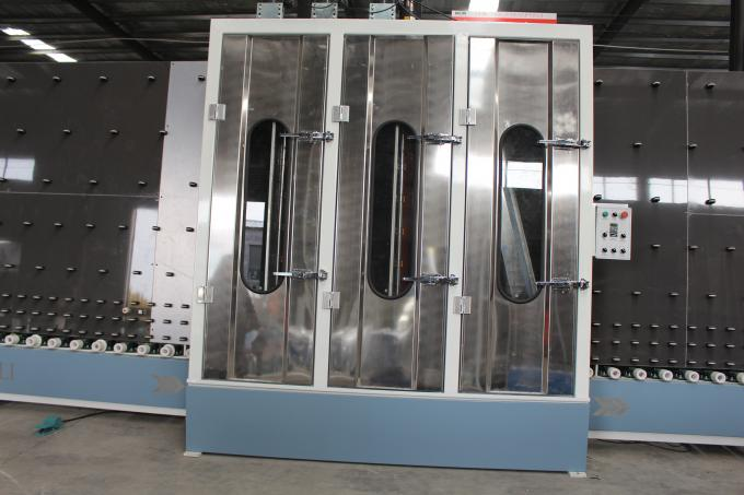 304stainless steel washing and drying part of double glazing machine