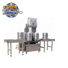 CE certificated keg filling machine and keg washing machine