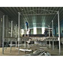 Heißes DIP Galvanisiertes quadratisches Rohr-Stahlrahmen-modulares Haus-Gebäude