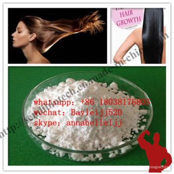 Medicina Minoxidil Sulfato en polvo Minoxidil para cabello Growthing CAS 38304-91-5