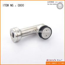 Glass wall patch clamp fittings connector