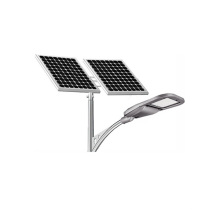 A economia de energia 100W do UL conduziu a luz de rua solar com sensor de movimento