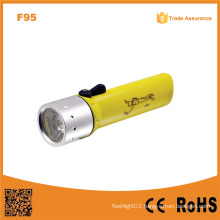 F95 Classic High Power Underwater Waterproof Ipx8 Xre Q5 LED Diving Flashlight