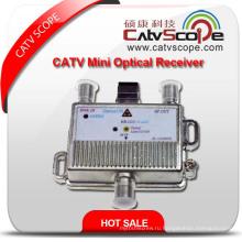 Миниатюрный оптический приемник CATV / волоконно-оптический узел
