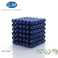 Gesinterte Permanentmagnetische Material Seltene Erdkugelmagnete für Schmuck / Medizin / Industrie