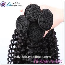 Full cuticle 100 cheveux malaisiens humains Bundles en gros 100 vison malaisiens cheveux vierges Kinky Curly