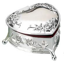Коробка с ожерельем коробочки для ювелирных изделий с сердечком