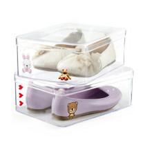 Personnaliser Clear Display Case Boîte à chaussures en acrylique pour enfants
