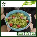 Tigela salada biodegradável tigela salada natural conjunto