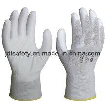 18 калибровочных работ порезов перчатка с Пу (K8082-18)