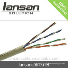 Iso Ce Rohs Certification Hot Sale Factory Price Haute qualité Utp 24awg Cat5e Network Cable