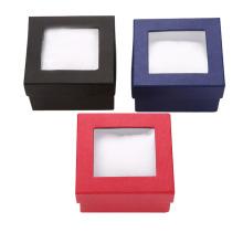 Caixa de papel de relógio colorido quadrado de design especial